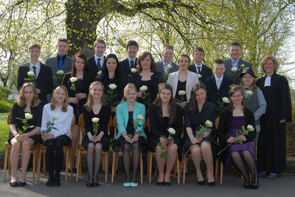 Konfirmation am 5. Mai 2013